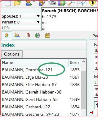 Individual List RootsMagic Liste